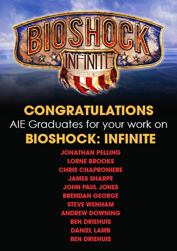 AIE Graduates | Bioshock Game