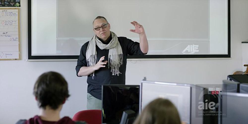AIE Teacher | Dave Scotland